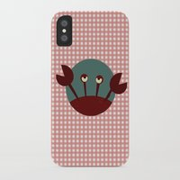 crab iPhone & iPod Cases featuring Crab by Mr & Mrs Quirynen