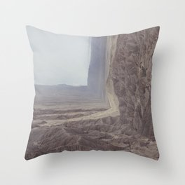 Fonts Point Throw Pillow