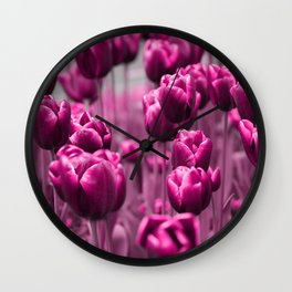 Tulips 035 Wall Clock