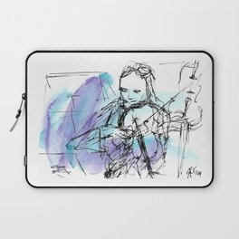 Violin in two tones I Laptop Sleeve