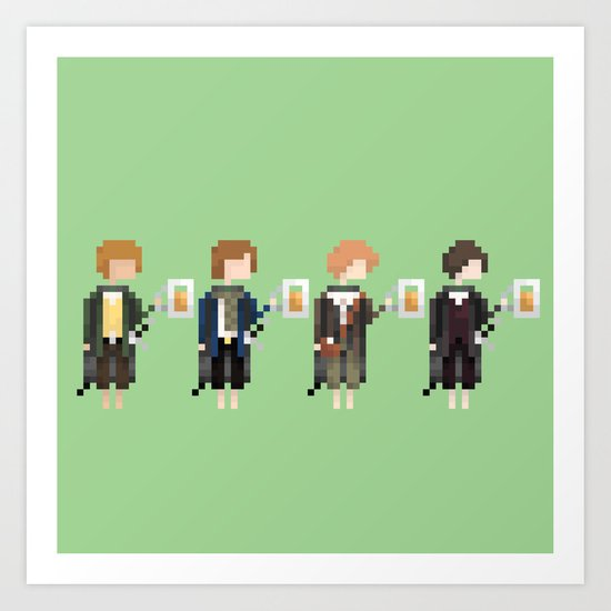 Hobbits Art Print