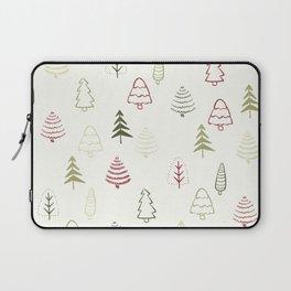 Winter Trees in Snowy Day Laptop Sleeve