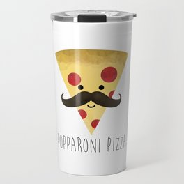 Popparoni Pizza Travel Mug