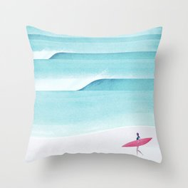 Biarritz Throw Pillow