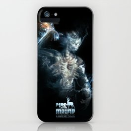 Fire on the Mound - In Broken Tongue iPhone Case