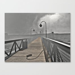 Train Station Photography Canvas Print