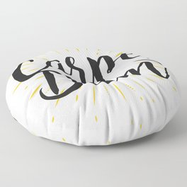 Carpe Diem Floor Pillow