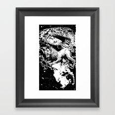 Moon Lion Framed Art Print