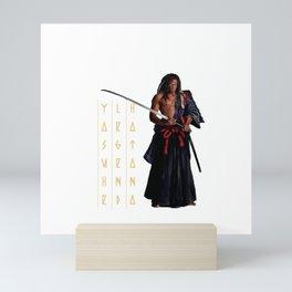 Yasuke The Afro Samurai Mini Art Print