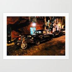 cool car #001 Art Print