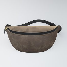 One Hundred Years of Solitude - Tree Forest Mountain Dust Fanny Pack
