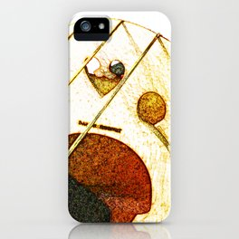 Just a Cello Bridge iPhone Case