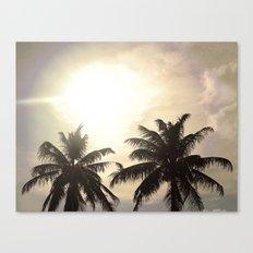 Palm Lovers Canvas Print