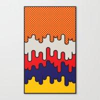 lichtenstein Canvas Prints featuring Lichtenstein by John Tibbott
