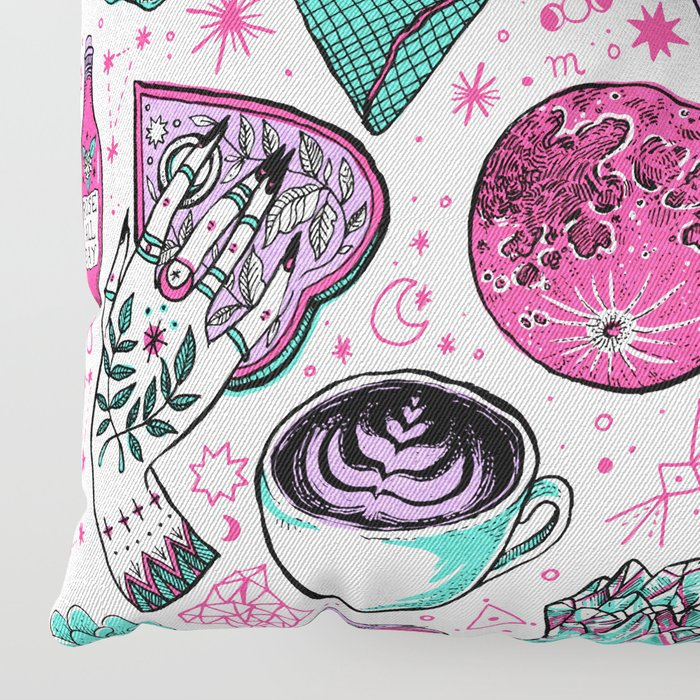 Basic Witch II Floor Pillow
