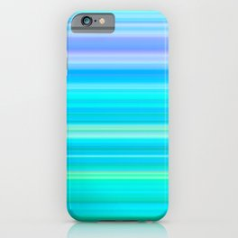 Summer Breeze Gradient iPhone Case