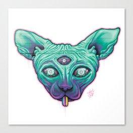 Shfinxy Canvas Print