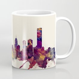 Melbourne Skyline Coffee Mug