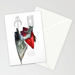 Boba Fett - Off the Clock Stationery Cards