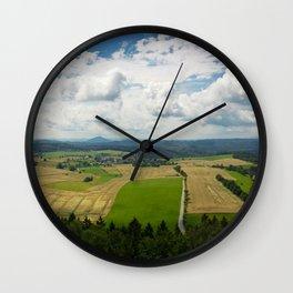 Bohemian Switzerland Wall Clock