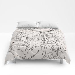 Charcoal Tropics Comforters