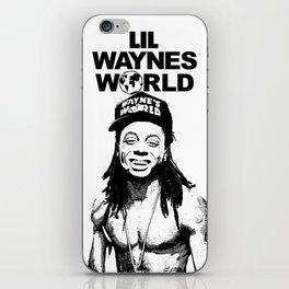 LIL WAYNES WORLD iPhone Skin