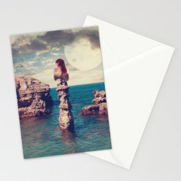 Where the silence has lease Stationery Cards
