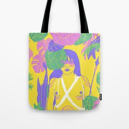Brazilian Native Girl Tote Bag