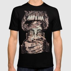 Demon hands X-LARGE Black Mens Fitted Tee