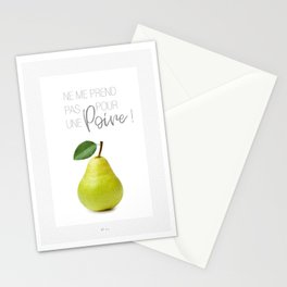 Affiche poire Stationery Cards