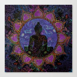 Buddha in Spirits Canvas Print