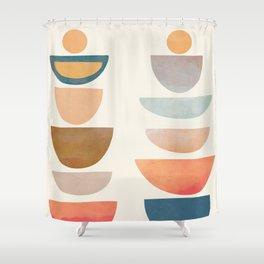 Modern Abstract Art 75 Shower Curtain