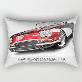 Corvette 1959 Rectangular Pillow