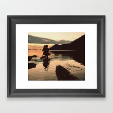 Galiano Framed Art Print