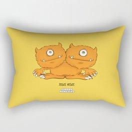 Jeebee Heebee Rectangular Pillow