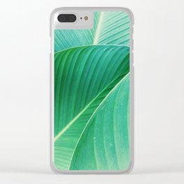 tropical plant 5 Clear iPhone Case