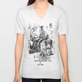 London Bridge Buskers - Tap your feet, let's do it - Unisex V-Neck