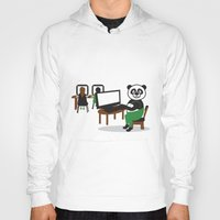 teacher Hoodies featuring Panda Teacher by WCVS Online