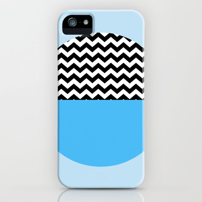 Moiety Blue iPhone Case
