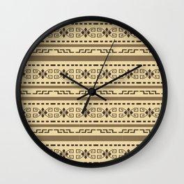Big lebowski cardigan pattern Wall Clock