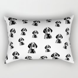 GERMAN POINTER SHORTHAIRED DOG,GIFTS FROM MONOFACES FOR ALL IN 2020 Rectangular Pillow