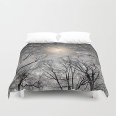 Nature Blazes Before Your Eyes 2 (Ash Embers) Duvet Cover