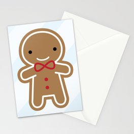 Cookie Cute Gingerbread Man Stationery Cards