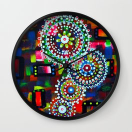 LACE DOILIES Wall Clock