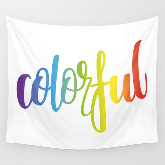 Colorful Wall Tapestry