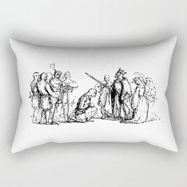 King Arthur Knighting Rectangular Pillow