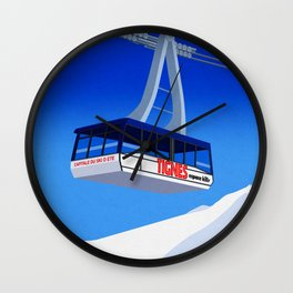 Tignes Wall Clock