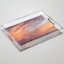 Cotten Candy Sunset Acrylic Tray