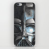 darth iPhone & iPod Skins featuring Darth by Michael Hewitt