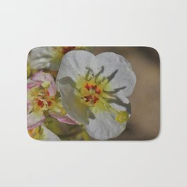 Smallest Desert Wildflower Blossoms by Reay of Light Photography Bath Mat